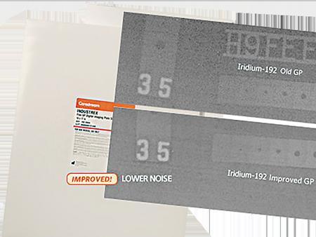 케어스트림<br />산업용 Flex HR/GP/XL-Blue<br />디지털 이미지 플레이트
