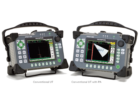 Ultrasonic Flaw Detector<br />EPOCH 1000 Series