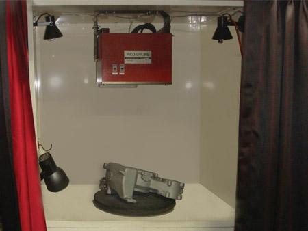 방산 부품 및 주물 검사장치