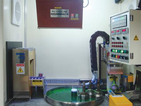 자동차부품 자분탐상 시스템