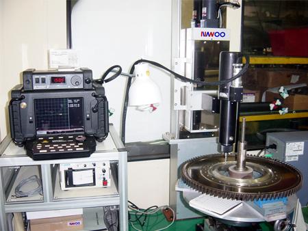 터빈 디스크 홀 와전류검사 시스템