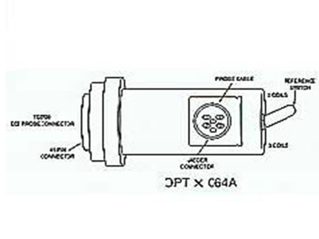 Probe Adaptor<br />Jaeger Probe Adaptor<br />for 6-pin Jaeger